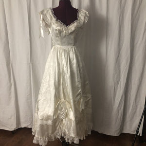 Vintage Gunne Sax Southern Belle Wedding Gown XS